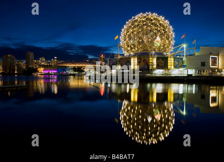 Die Vancouver Science Dome und BC Platz Stadion British Columbia, Kanada. - Stockfoto