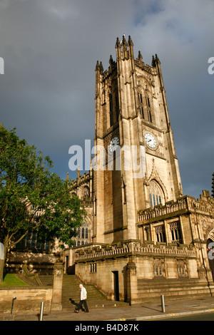 Aug 2008 - Manchester Kathedrale Manchester England England - Stockfoto