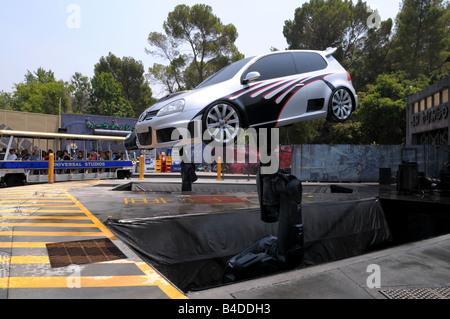 Universal Studios Stunt Cars - Stockfoto