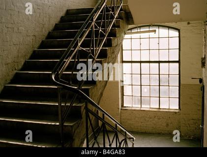 Ein Treppenhaus - Stockfoto