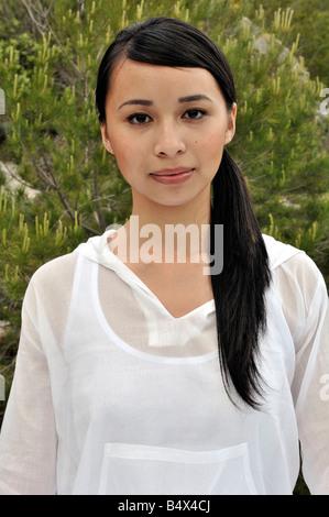 Porträt einer vietnamesischen Frau von franco - Stockfoto