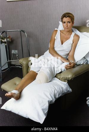 Heather Mills-Modell, das Bein bei Unfall Mirrorpix
