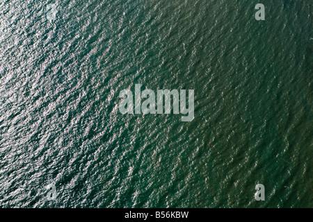 Luftaufnahme des Meeres - Stockfoto