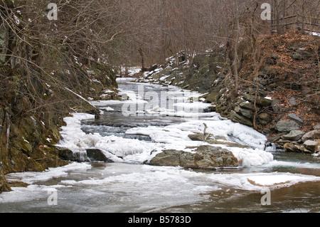 Schießpulver River, Parkton, Maryland - Stockfoto