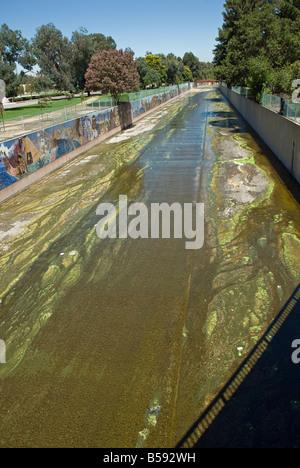 Tujunga Wash Sub Wasserscheide CA San Fernando Valley, Kalifornien Stadt von Los Angeles Department von Erholung - Stockfoto