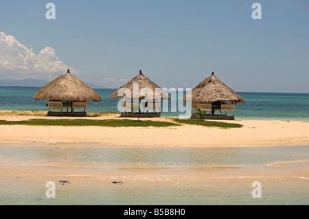 Pandanon Insel, Nalusuan Marine Sanctuary, Cebu Island, Philippinen, Südostasien - Stockfoto