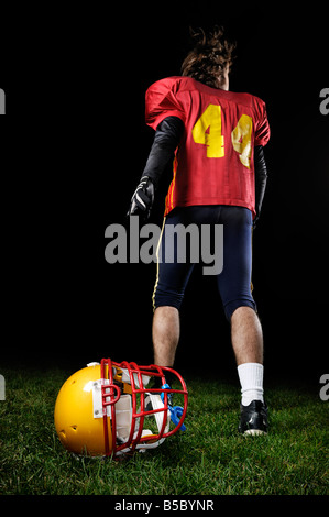 American-Football-Spieler - Stockfoto
