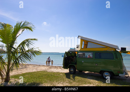 Vereinigte Staaten von Amerika Florida Miami Beach in Key Biscayne - Stockfoto