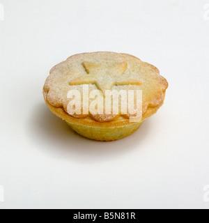 Weihnachten Mince pie - Stockfoto