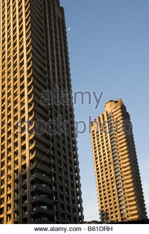 Die Barbican Estate in der City of London - Stockfoto