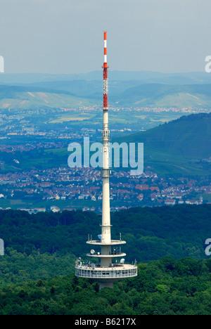 Telekommunikation-Turm, Stuttgart, Baden-Württemberg, Deutschland, Europa - Stockfoto