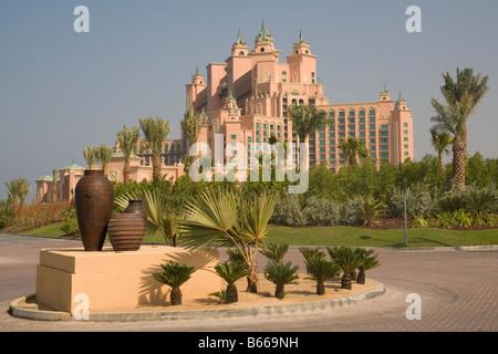 Vereinigte Arabische Emirate Dubai Palm Jumeirah Atlantis hotel - Stockfoto