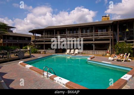 Driftwood Resort in Vero Beach Gold Coast Florida Vereinigte Staaten von Amerika - Stockfoto