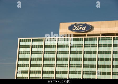 Ford Motor Company World Headquarters Dearborn Michigan USA - Stockfoto