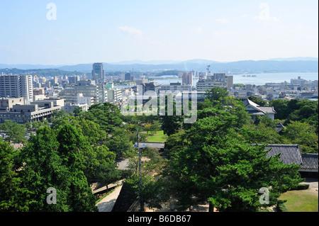 Matsue City, Präfektur Shimane, Honshu, Japan - Stockfoto