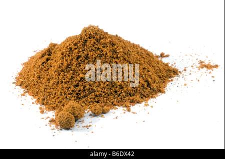 Haufen von Currypulver - Stockfoto