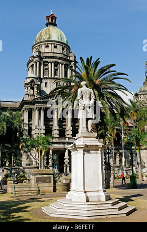 Historischen Neo-barocken Rathaus, erbaut 1910, Durban, Kwazulu-Natal, Südafrika - Stockfoto