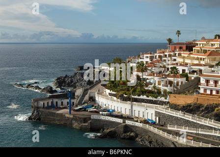 Puerto de Santiago, Teneriffa, Kanarische Inseln. - Stockfoto