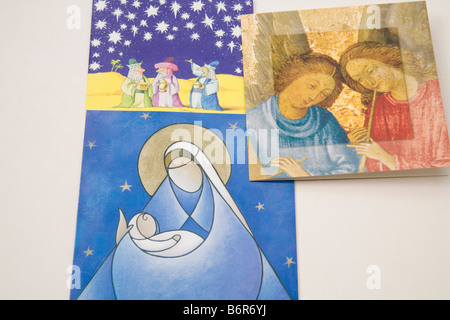 Religiöse Weihnachtskarten.Religiöse Weihnachtskarte Mit Der Heiligen Drei Könige Die Nach Der