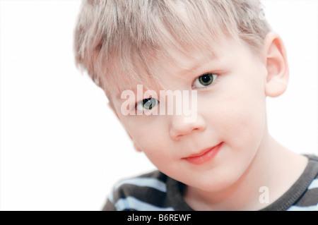 Porträt eines Jungen - Stockfoto