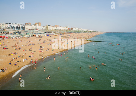Strand von Brighton - Stockfoto