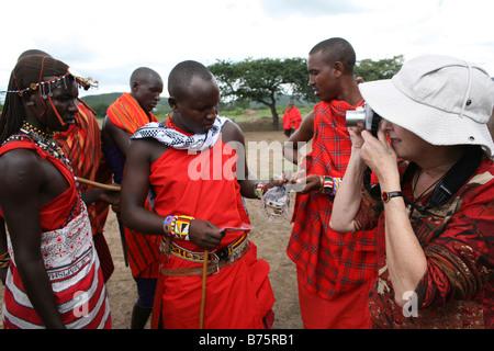Kenia Massai - Stockfoto