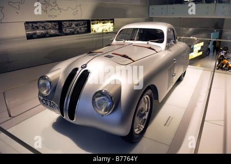BMW Museum, BMW 328, München, Bayern, Deutschland, Europa - Stockfoto