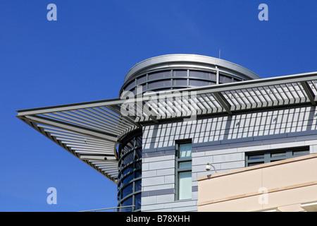Moderne Architektur, neue Botschaft von der United States of America, USA, am Pariser Platz Square, Bezirk Mitte - Stockfoto