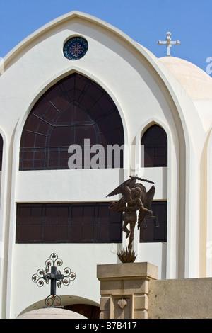 St George koptischen Kirche in Assuan, Ägypten - Stockfoto