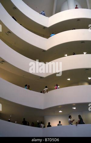 Solomon R. Guggenheim Museum, New York City, USA - Stockfoto