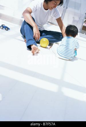 Vater und Kind - Stockfoto