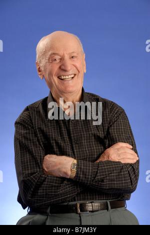 Ältere männliche Kopfschuss; Regina Saskatchewan, Kanada - Stockfoto