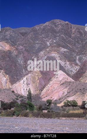 """""""Der Maler-Palette"""" / """"La Paleta del Pintor"""" Hang, Maimara, Quebrada de Humahuaca, Argentinien - Stockfoto"""