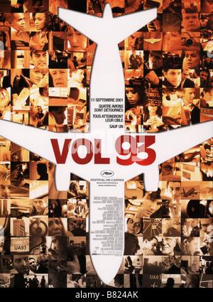 Vol. 93 United 93 Jahr: 2006 - Frankreich/Großbritannien/USA Affiche/Poster Regie: Paul Greengrass - Stockfoto