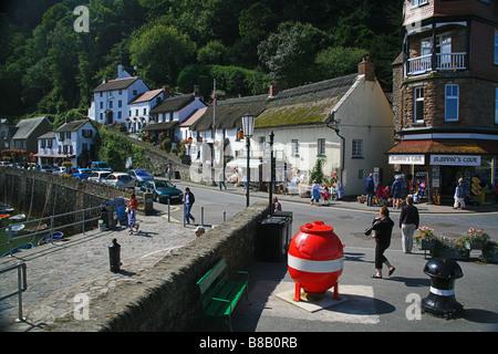 Lynmouth Harbour, North Devon, England, UK - Stockfoto
