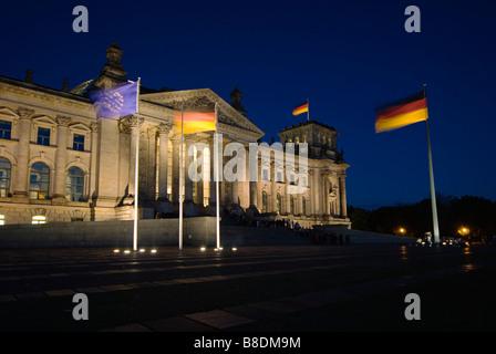 Reichstag Gebäude berlin - Stockfoto