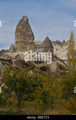 Fairy Chimney in Cappadocia Türkei - Stockfoto