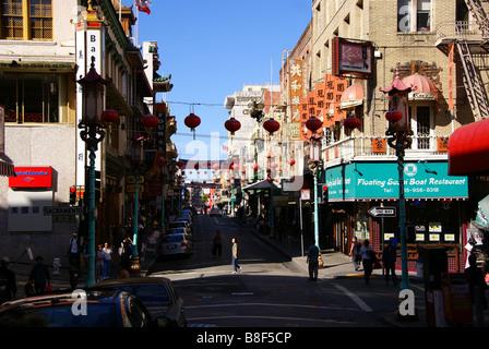 Chinatown San Francisco, Kalifornien - Stockfoto