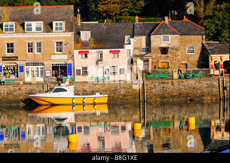 Boote in Padstow Hafen Cornwall England - Stockfoto