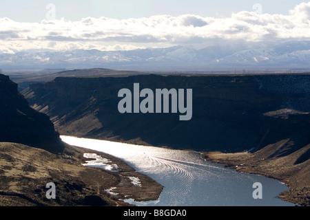 Der Snake River in der Nähe von Schwan-Falls-Idaho-USA - Stockfoto