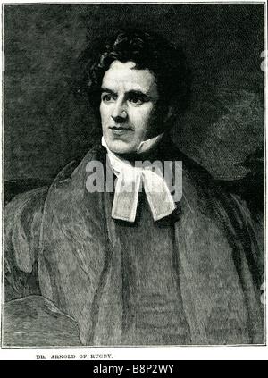Dr. Thomas Arnold von Rugby 1795 1842 britischer Pädagoge Historiker breiten anglikanischen Kirche Bewegung - Stockfoto