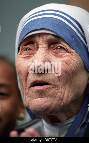 Mutter Teresa von Kalkutta in Birmingham, England, Vereinigtes Königreich - Stockfoto