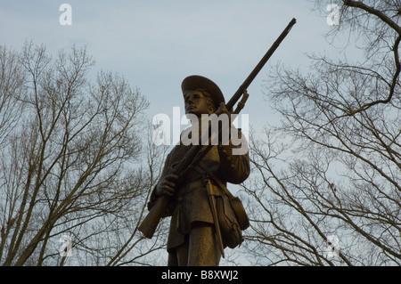"""""""Stille Sam"""" konföderierten Soldaten Gedenkstätte an der University of North Carolina in Chapel Hill"""