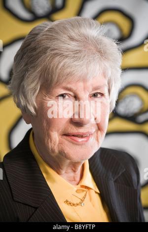Porträt einer Frau Schwedens. - Stockfoto