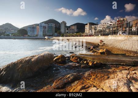 Felsen an der Stanley Bay, Hong Kong - Stockfoto