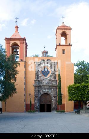 Kirche des Heiligen Geistes, San Miguel de Allende, Mexiko - Stockfoto