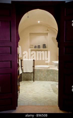 marokkanischen putz w nde technik namens tadelakt stockfoto bild 20773994 alamy. Black Bedroom Furniture Sets. Home Design Ideas