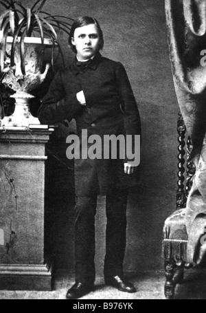 FRIEDRICH NIETZSCHE-deutscher Philosoph 1844-1900 - Stockfoto