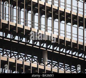 Deutschland Bayern München Europäischen Patentamt Fassade Detail Kellner-Bayern deutschen Markenamt DPMA Gebäude Büro-und Verwaltungsgebäude