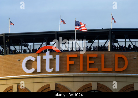 Fans im CitiField in Flushing Queens in New York - Stockfoto